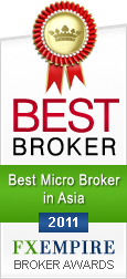 FXOptimax - Best Micro Broker in Asia 2011 - by FXEmpire